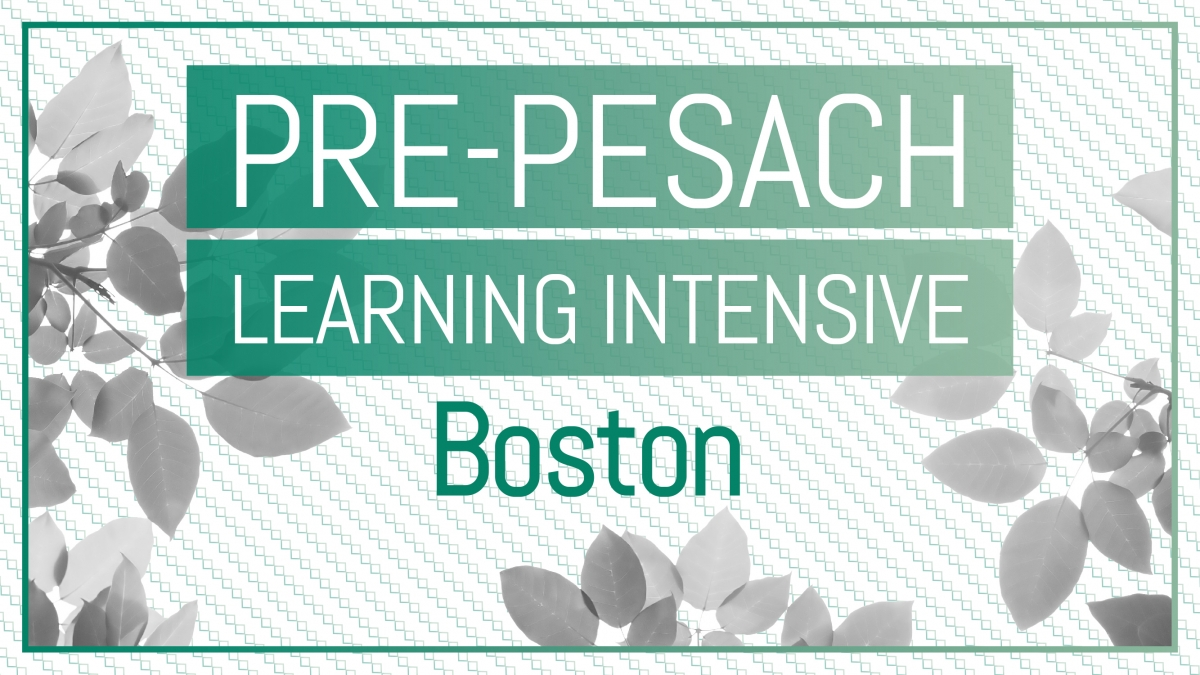 Pre-Pesach Program Boston